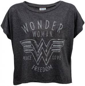 Wonder Woman Oversized Ladies' Pocket Tee