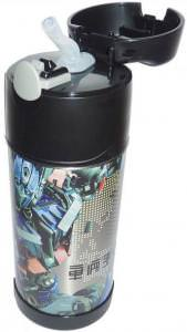 Transformers FUNtainer bottle