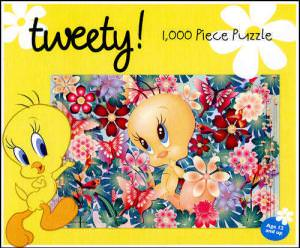 Looney Tunes Tweety 1000 Piece Jigsaw Puzzle.