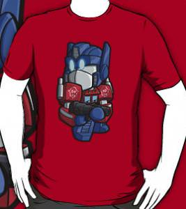 Transformers Baby Optimus Prime T-Shirt