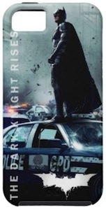 Batman On Police Car iPhone 5 Case