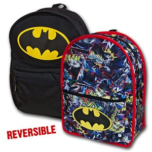 Batman Reversible Backpack