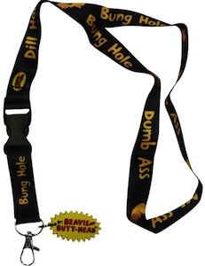 Beavis And Butt-Head Insult Lanyard