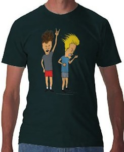 Beavis And Butt-Head Headbanging T-Shirt