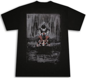 Captain America in the Rain T-Shirt