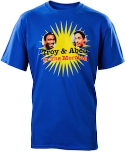 Community Troy & Abed in the morning t-shirt