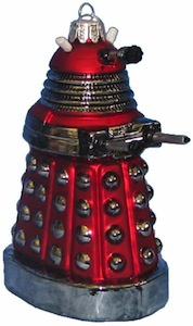 Doctor Who Red Dalek Christmas Ornament