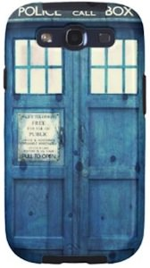 Doctor Who Tardis Case For The Samsung Galaxy 3