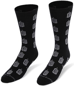 Doctor Who Tardis Logo Crew Socks