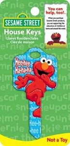 Sesame Street Elmo House Key