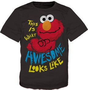 Elmo This Is What Awesome Looks Like T-Shirt
