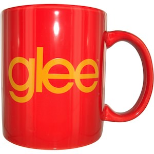 Glee name mug with the Glee logo