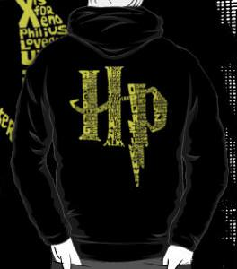 Harry Potter A To Z Hoodie