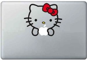 Hello Kitty Laptop Decal