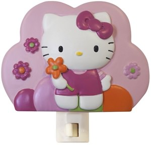 Hello Kitty flowers Night Light