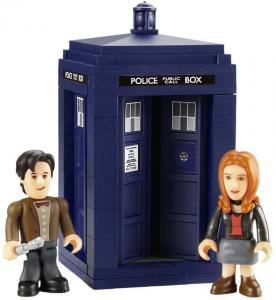 LEGO Tardis Doctor Who And Amy Pond