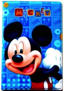 Disney passport cover with Mickey Mouse