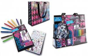 Monster High Artist Tote Portfolio Set