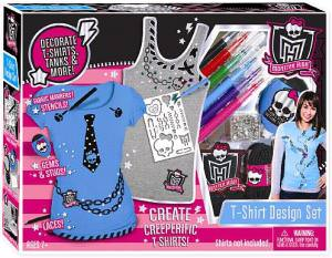 Monster High Shirt Design Set