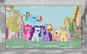 My Little Pony Friendship Is Magic Poster