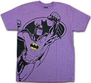 Purple Batman T-Shirt
