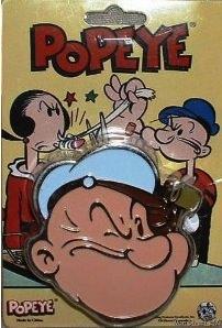 Popeye Belt Buckle
