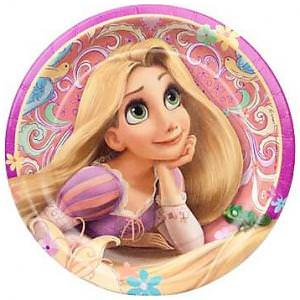 Disney's Princess Rapunzel Tangled Plates