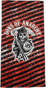 Sons Of Anarchy Stars And Stripes Towel