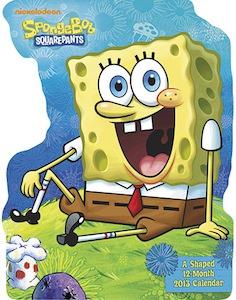 SpongeBob Squarepants Wall Calendar 2013