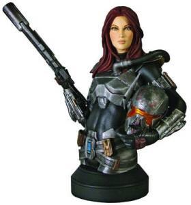 Star Wars Shae Vizla Mini Bust