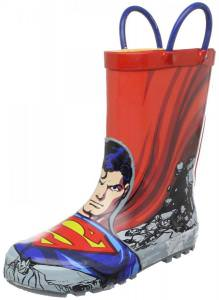 DC Comics Superman Rain Boots