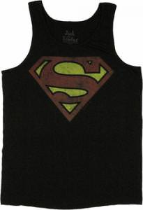DC Comics Superman Vintage Logo Tank Top