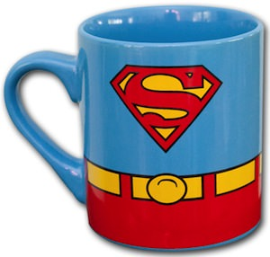 Superman Costume Mug