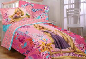 Tangled Rapunzel Sheet Set