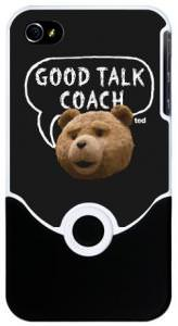 Ted Good Talk Coach iPhone 4 Case