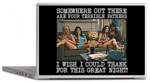 Ted Great Night Laptop Skin