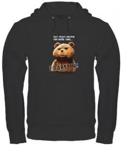 Ted I Dare Ya Hoodie