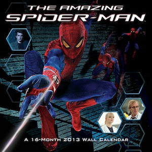 The Amazing Spider-Man Wall Calendar 2013