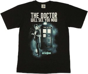 The Doctor Will See You Now T-Shirt from Doctor Who