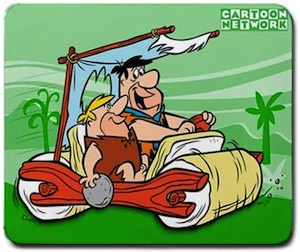 The Flintstones Mousepad