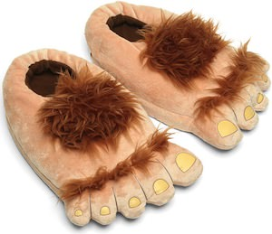 the Hobbit Feet Slippers