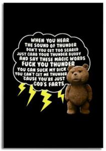 Ted Thunder Song Magnet