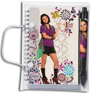 Wizards Of Waverly Place Notebook And Pen Set