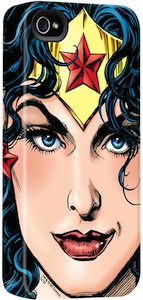 Wonder Woman Close-Up iPhone Case