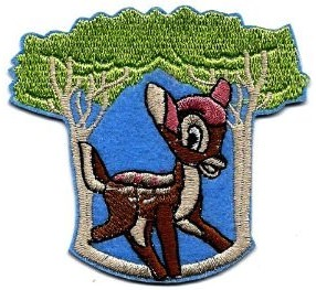 Disney Bambi Clothing Patch