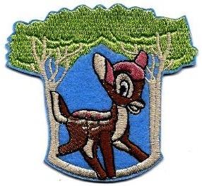 Disney Bambi Clothing Patch