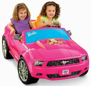 Barbie Power Wheels Ford Mustang