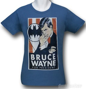 Bruce Wayne For President T-Shirt