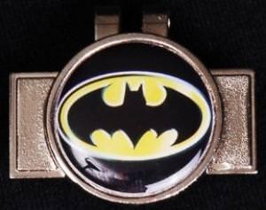 Batman Hat Clip Golf Ball Marker