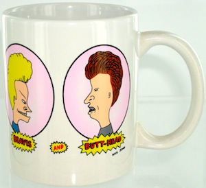 Beavis And Butt-Head Ceramic Mug